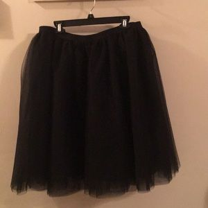 NWT Lane Bryant Woman's Plus Size Tulle Skirt